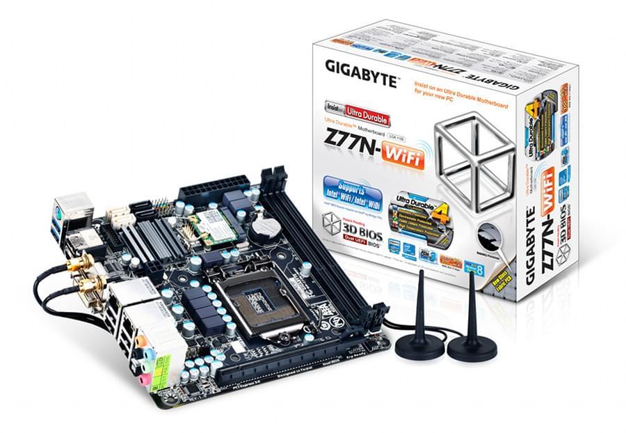 Gigabyte Z77N-WiFi (Z77N-WIFI) - Achat / Vente Carte Mère sur Cybertek.fr - 0