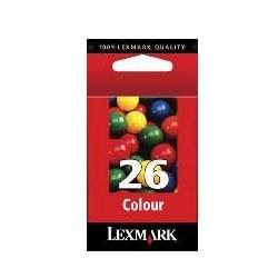 Lexmark Cartouche Noire n°26 (010N0026E) - Achat / Vente Consommable Imprimante sur Cybertek.fr - 0