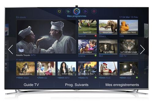 Samsung UE55F8000 (UE55F8000) - Achat / Vente TV sur Cybertek.fr - 0