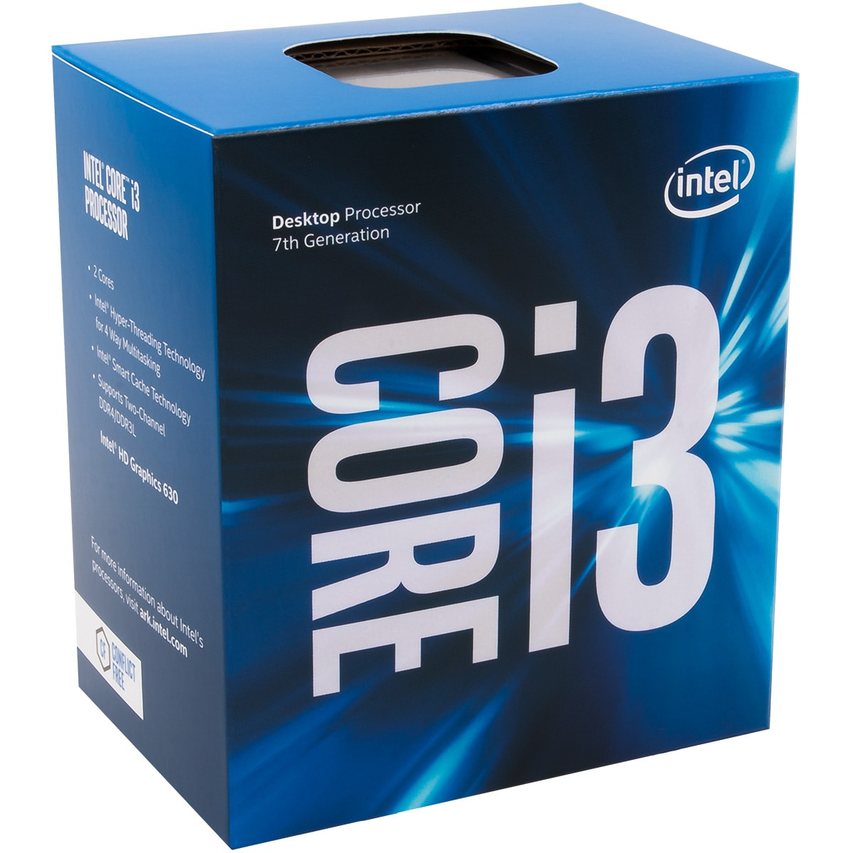 Intel Core i3 7320 - 4.1GHz - Processeur Intel - Cybertek.fr - 0
