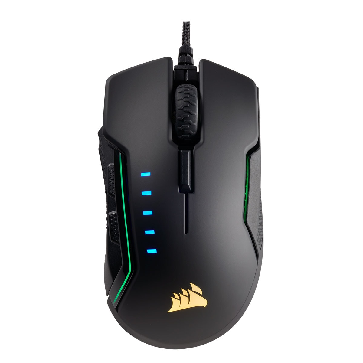 Corsair Glaive RGB Gaming Mouse Black - Souris PC Corsair - 1