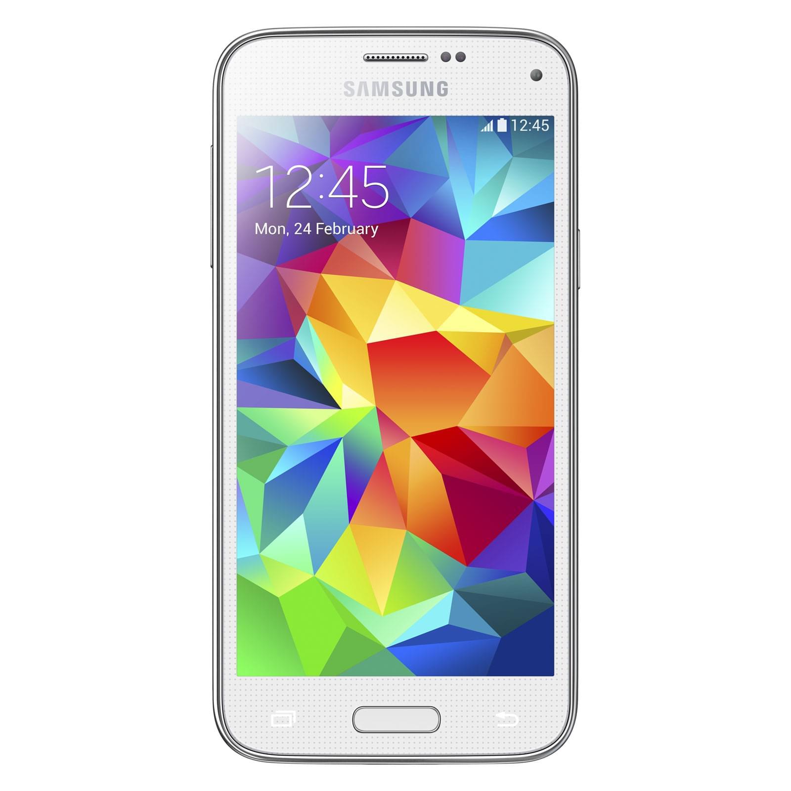 Samsung Galaxy S5 Mini G800 White (SM-G800FZWAXEF) - Achat / Vente Téléphonie sur Cybertek.fr - 0