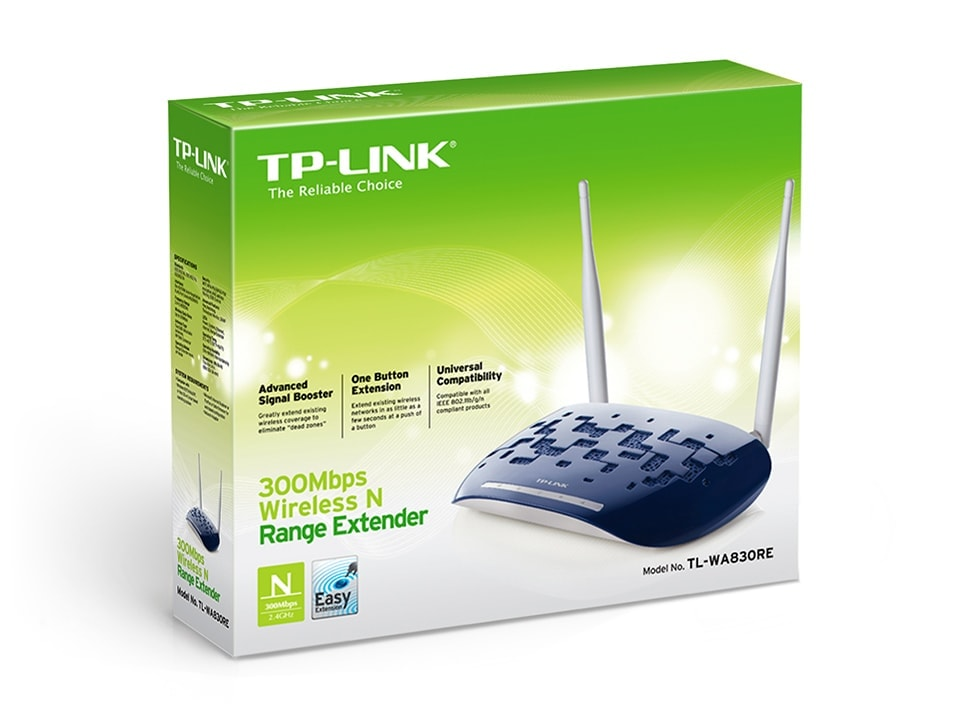 TP-Link TL-WA830RE (TL-WA830RE /  302830) - Achat / Vente Réseau Point d'accès Wifi sur Cybertek.fr - 0