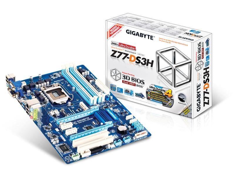 Gigabyte Z77-DS3H (Z77-DS3H) - Achat / Vente Carte Mère sur Cybertek.fr - 0