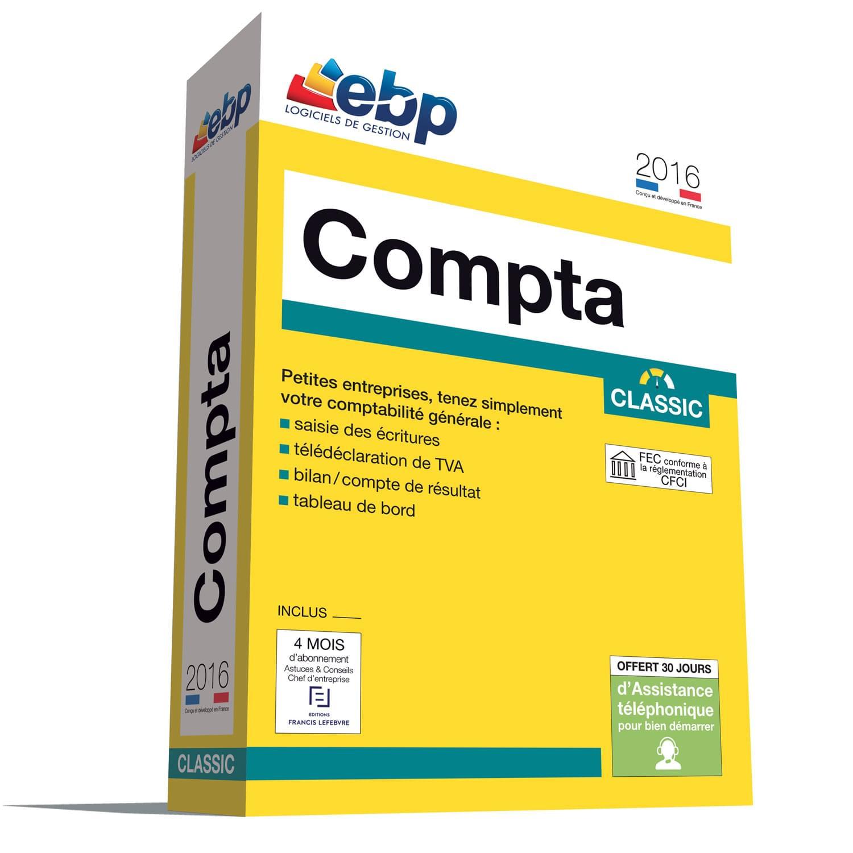EBP Compta Classic 2016 (1066J080FAA) - Achat / Vente Logiciel Application sur Cybertek.fr - 0