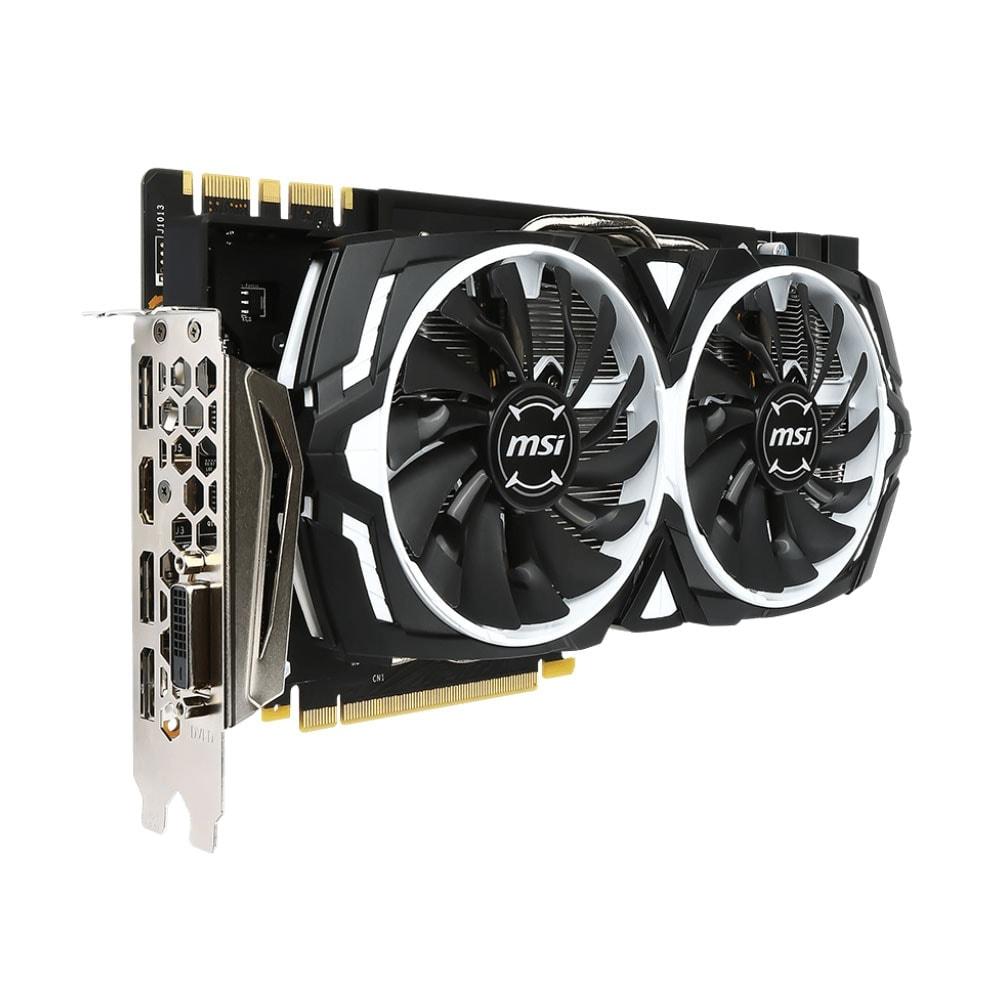 MSI GeForce GTX 1080 ARMOR 8G OC (912-V336-004) - Achat / Vente Carte Graphique sur Cybertek.fr - 2