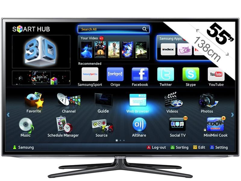 Samsung UE55ES6300 3D (UE55ES6300) - Achat / Vente TV sur Cybertek.fr - 0