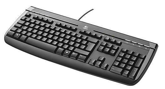Logitech Internet 350 Keyboard Black PS2 OEM - Clavier PC - 0