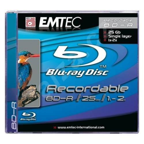 Emtec BD-R SL 25GB (EKOBDR2512JC) - Achat / Vente Consommable Stockage sur Cybertek.fr - 0