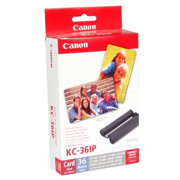 Canon Kit Cartouche couleur + papier (36f) KC-36IP (7739A001) - Achat / Vente Consommable Imprimante sur Cybertek.fr - 0