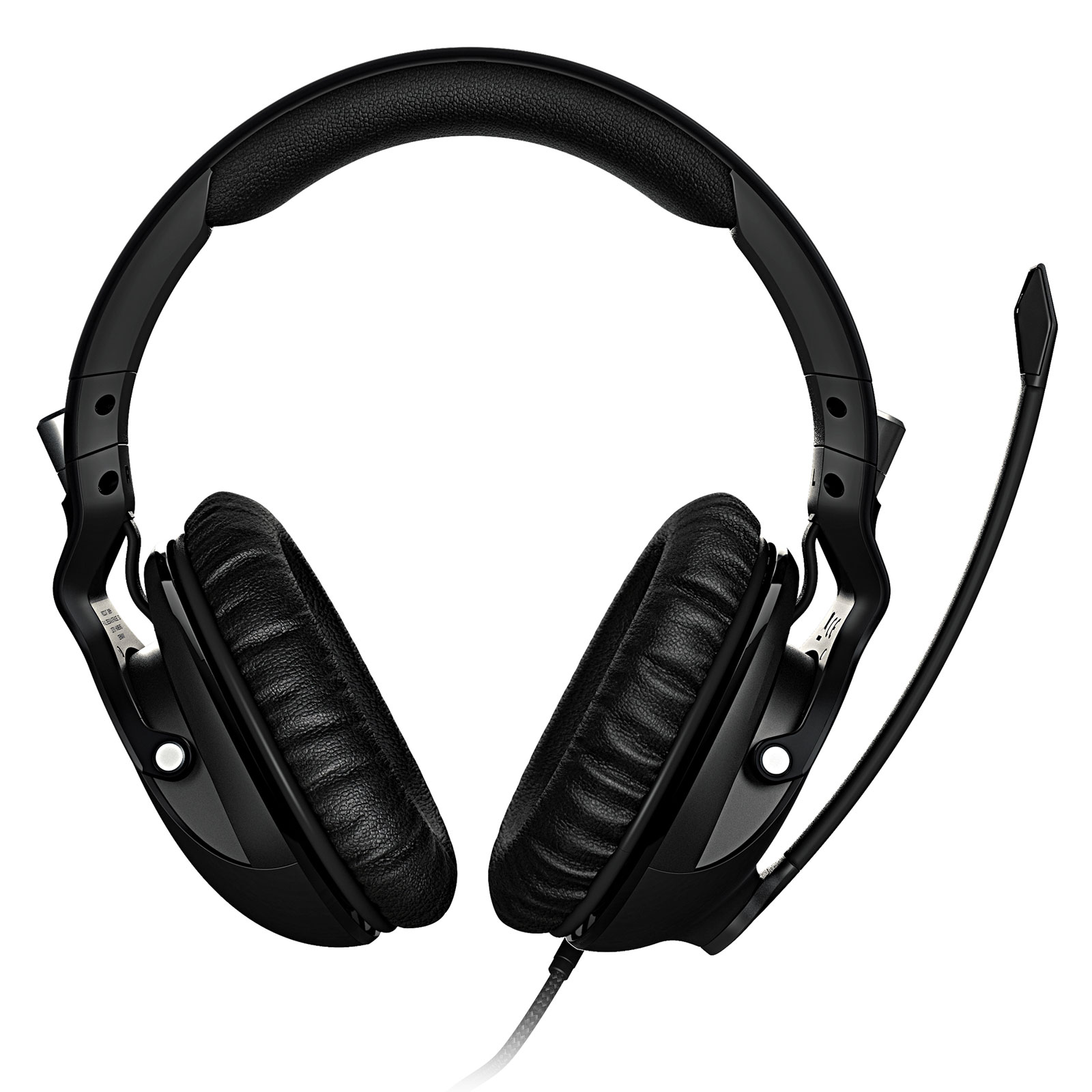 Roccat Khan PRO Noir Stereo Noir - Micro-casque - Cybertek.fr - 2