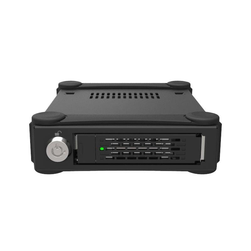 "Icy Dock 2.5"" USB3.0 SATA/SAS Tough Armor - MB991U3-1SB (MB991U3-1SB) - Achat / Vente Boîtier externe sur Cybertek.fr - 1"