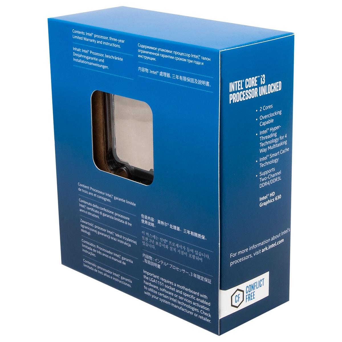 Intel Core i3 7350K - 4.2GHz - Processeur Intel - Cybertek.fr - 2