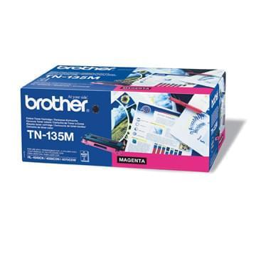 Toner TN135M Haute capacité 4000p Magenta pour imprimante Laser Brother - 0