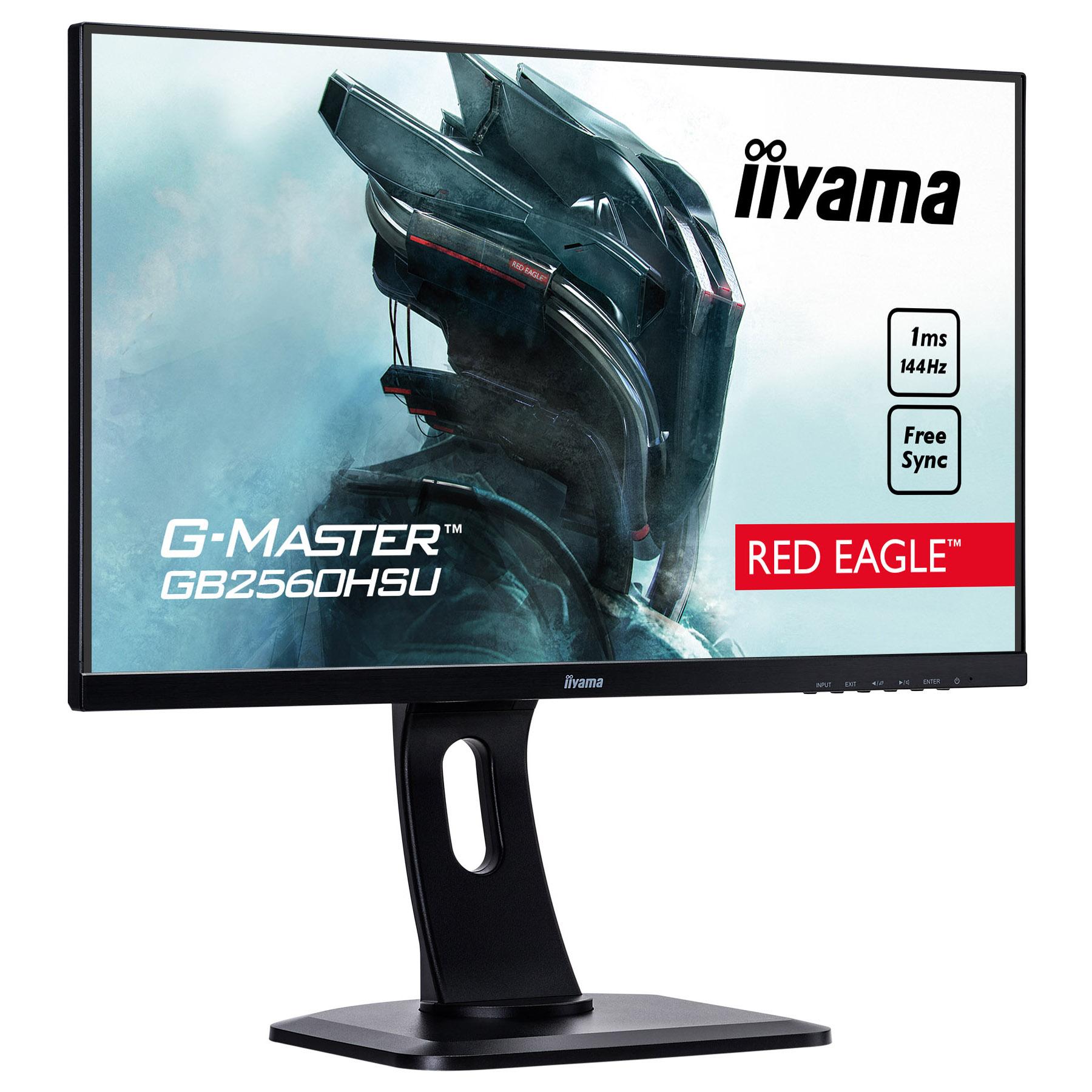 """Iiyama 25""""  GB2560HSU-B1 - Ecran PC Iiyama - Cybertek.fr - 0"""