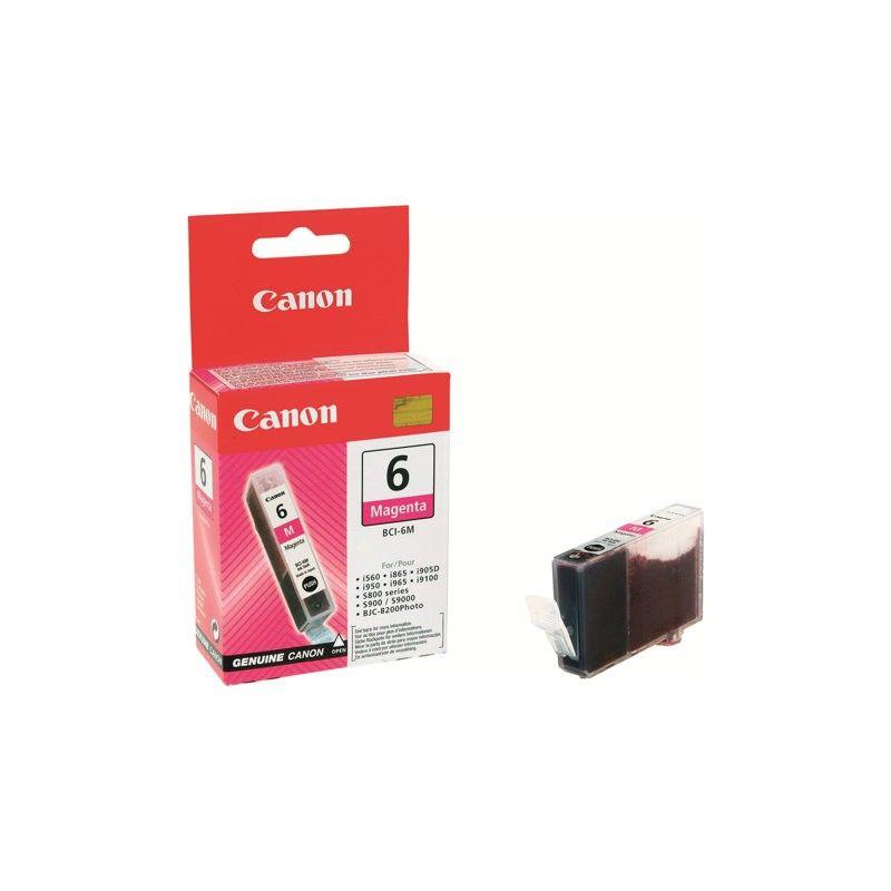 Cartouche BCI 6 M - 4707A002 pour imprimante Jet d'encre Canon - 0