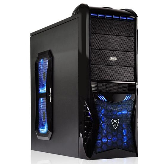 Advance MT/sans Alim/ATX Bleu - Boîtier PC Advance - Cybertek.fr - 0