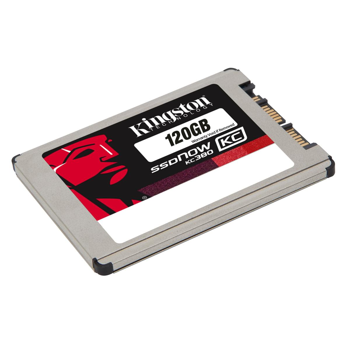 "Kingston 120Go SSD 1.8"" SSDNow KC380 uSATA SKC380S3/120G (SKC380S3/120G) - Achat / Vente Disque SSD sur Cybertek.fr - 0"