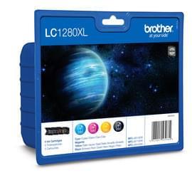 Pack Cartouche Noir et Couleur - LC1280XLVALBP pour imprimante Jet d'encre Brother - 0