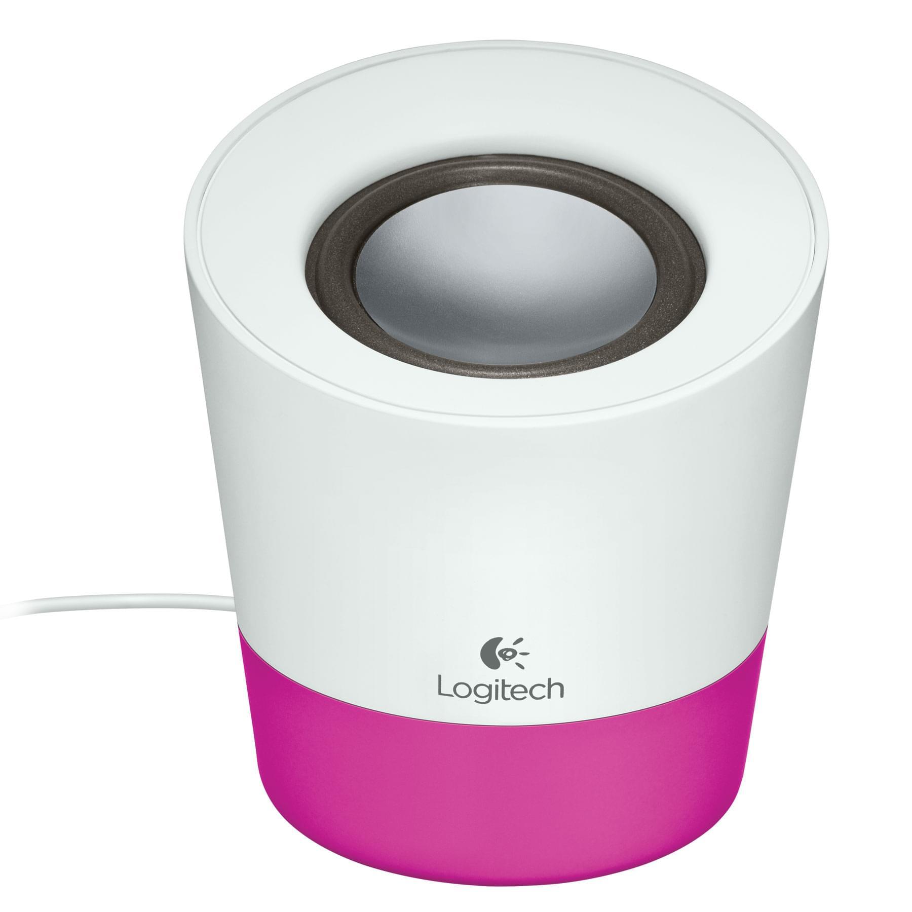Logitech Z50 Magenta (980-000805 soldé) - Achat / Vente Enceinte PC sur Cybertek.fr - 0