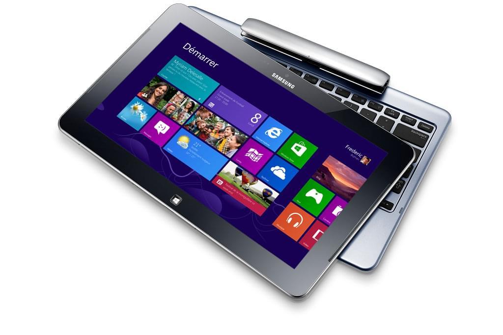 """Samsung ATIV Smart PC XE500T1C-A01FR -CT/2Go/64Go/11.6""""/W8 (XE500T1C-A01FR) - Achat / Vente Tablette Tactile sur Cybertek.fr - 0"""