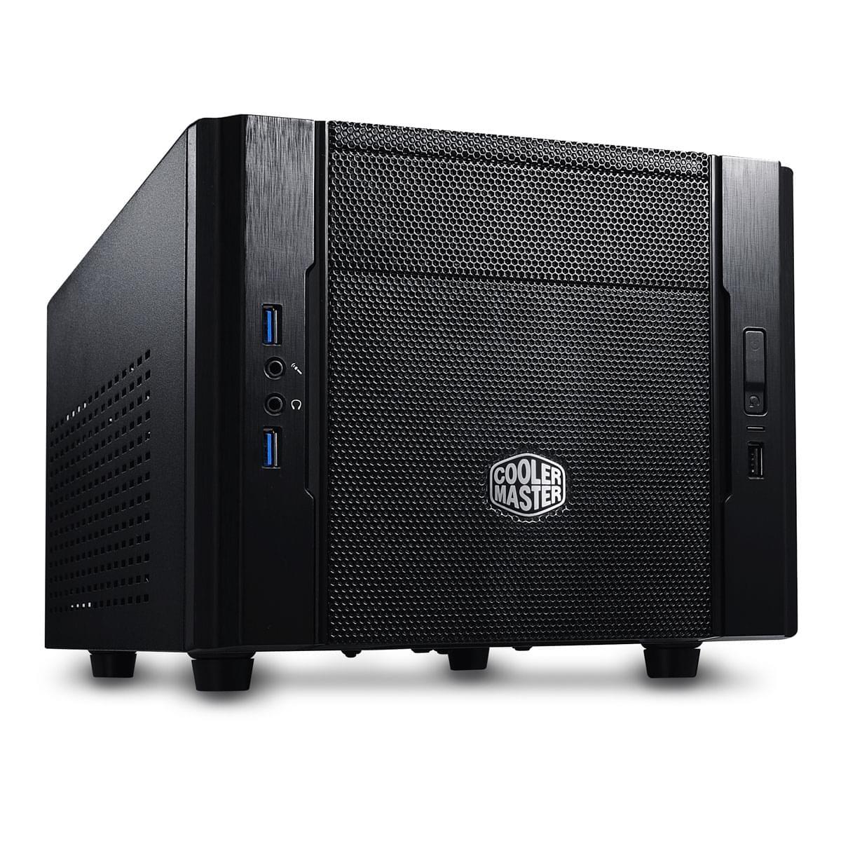 Cooler Master mT/Sans Alim/ITX Noir - Boîtier PC Cooler Master - 0
