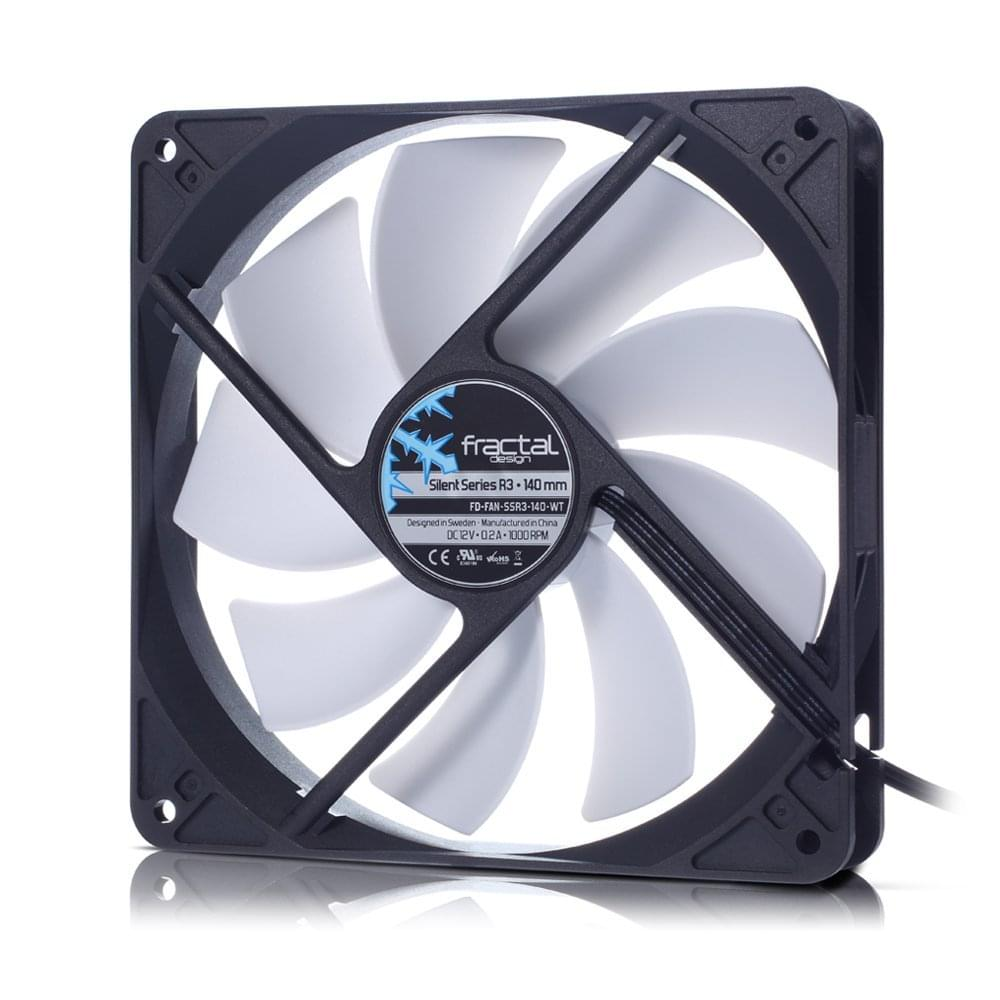 Fractal Design Silent Series R3 140mm - Ventilateur CPU - 0