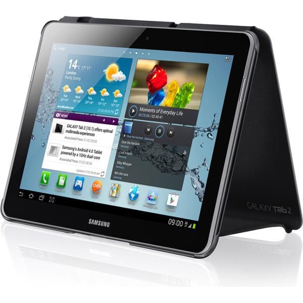 Samsung Book Cover Galaxy Tab 2 10.1 Dark Grey (EFC-1H8SGECSTD) - Achat / Vente Accessoire tablette sur Cybertek.fr - 0