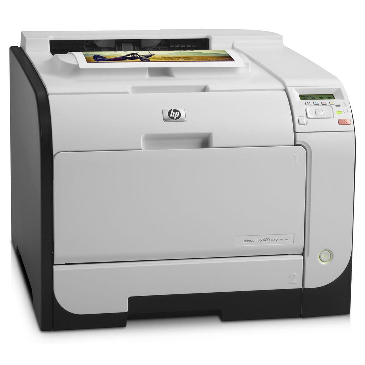 HP LaserJetPro 400 Color M451nw (CE956A#B19) - Achat / Vente Imprimante sur Cybertek.fr - 0