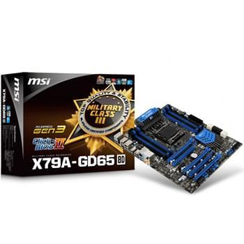 MSI X79A-GD65 (8D) (X79A-GD65 (8D)) - Achat / Vente Carte mère sur Cybertek.fr - 0
