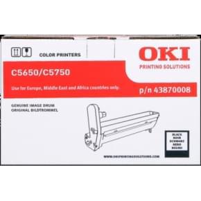 Tambour Noir 43870008 pour imprimante  Oki - 0