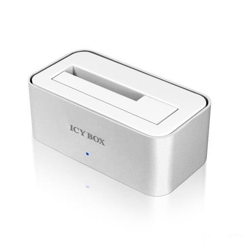 Icy Box Station d'accueil USB3.0 pour DD SATA (IB-111StU3-Wh) - Achat / Vente Boîtier externe sur Cybertek.fr - 0