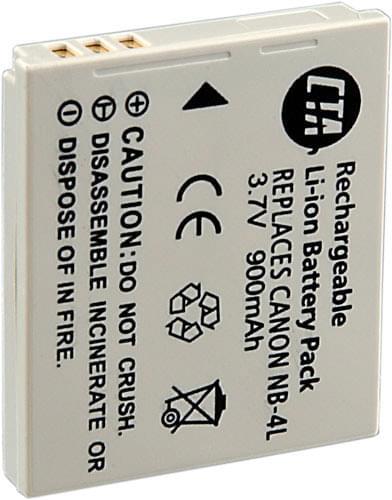 Canon NB-4L (9763A001) - Achat / Vente Batterie sur Cybertek.fr - 0