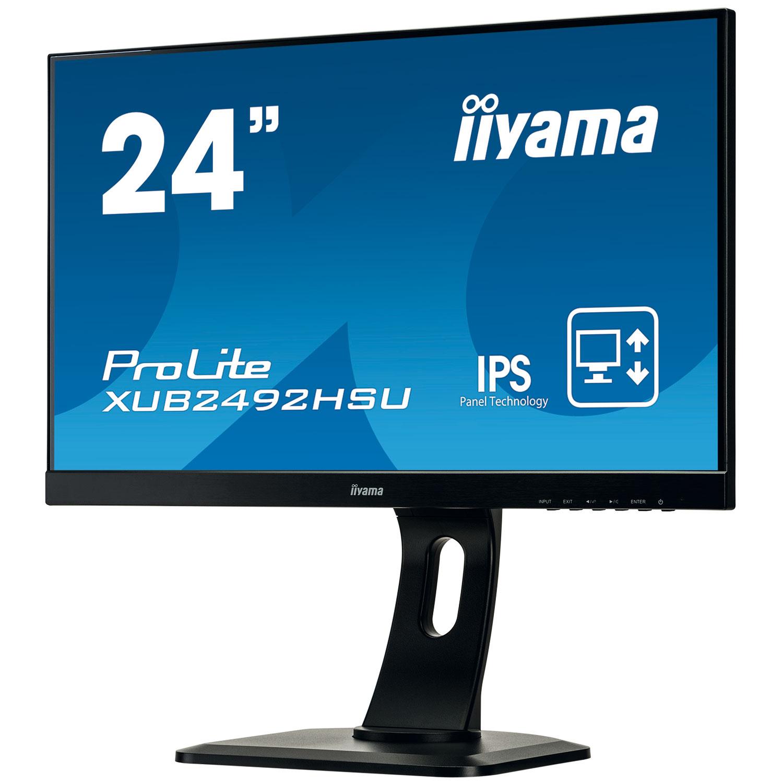 """Iiyama 24""""  XUB2492HSU-B1 - Ecran PC Iiyama - Cybertek.fr - 3"""
