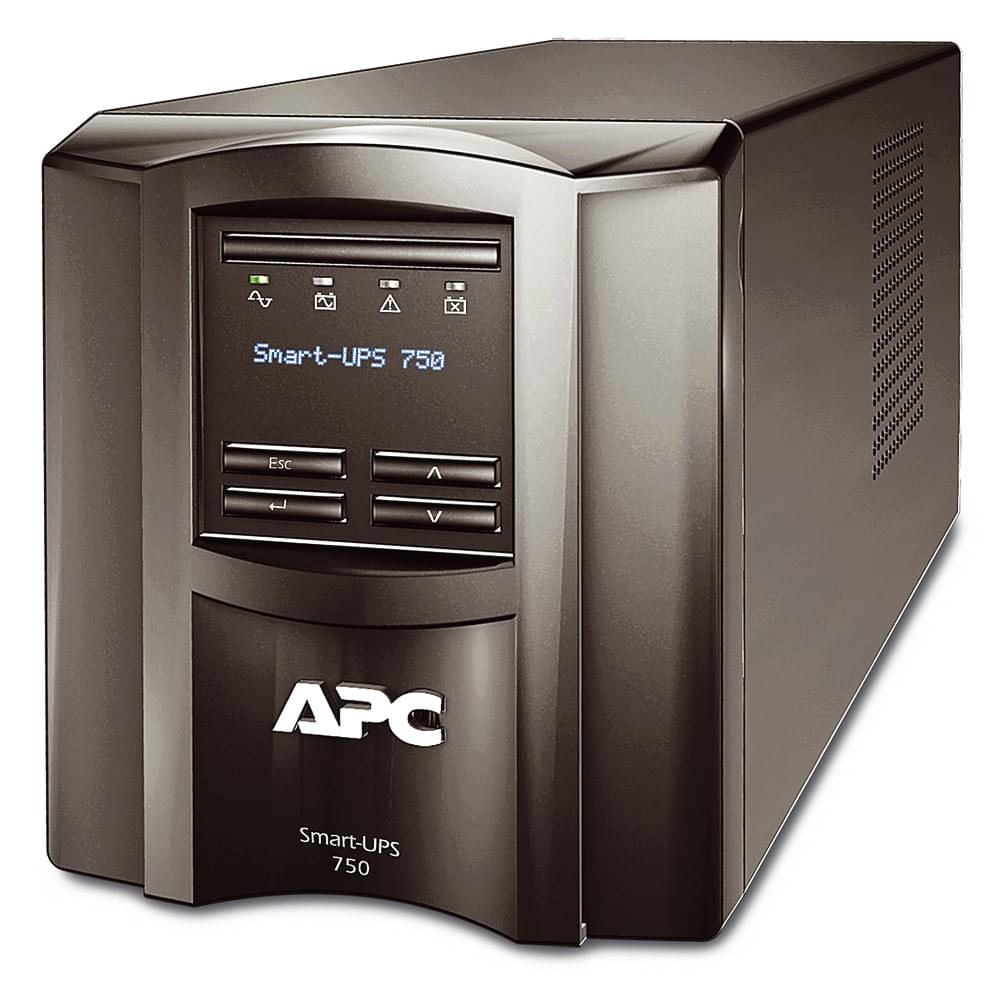 Smart UPS 750VA SMT750I - Onduleur APC - Cybertek.fr - 0