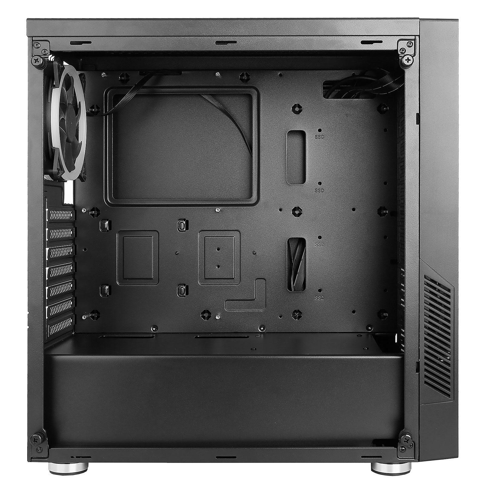 Boîtier PC Antec NX300 Black - MT/Sans Alim/ATX
