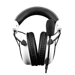 HyperX Micro-casque Cloud Gaming Headset (White) Cybertek