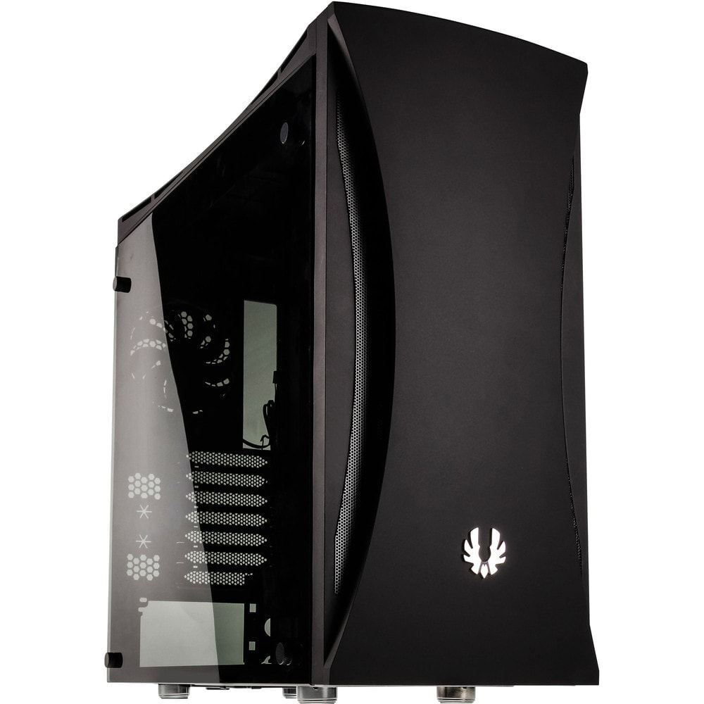 BitFenix Aurora Black Window - Boîtier PC Plexiglas - Sans Alim - 0