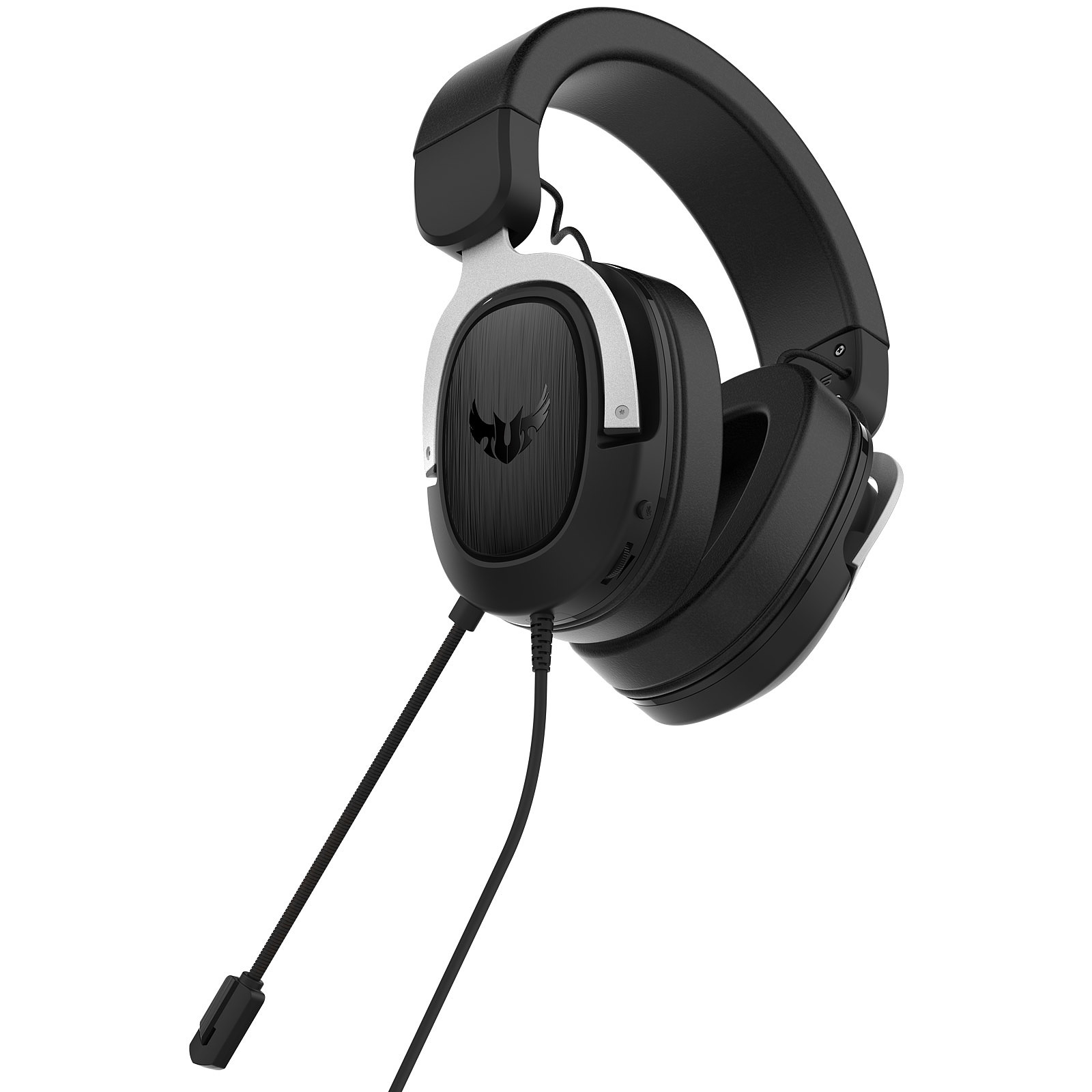 Asus TUF Gaming H3 Silver Stereo Gris - Micro-casque - Cybertek.fr - 3