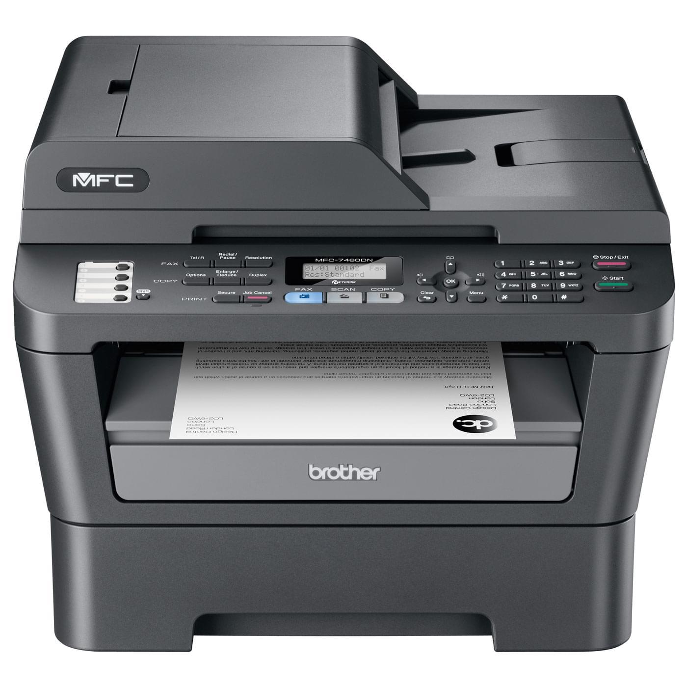 Brother MFC-7460DN (MFC7460DNF1) - Achat / Vente Imprimante multifonction sur Cybertek.fr - 0