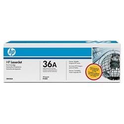 HP Consommable Imprimante Toner CB436A Noir Cybertek