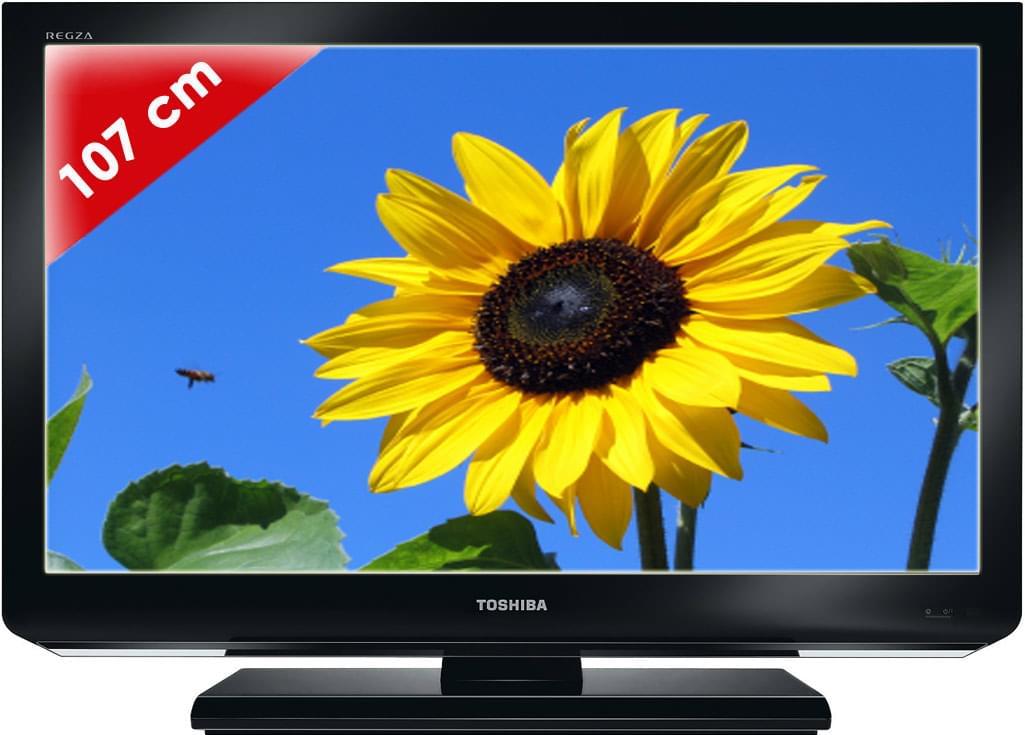 "Toshiba 42HL833 - 42"" (107cm) LED HDTV 1080p - TV Toshiba - 0"