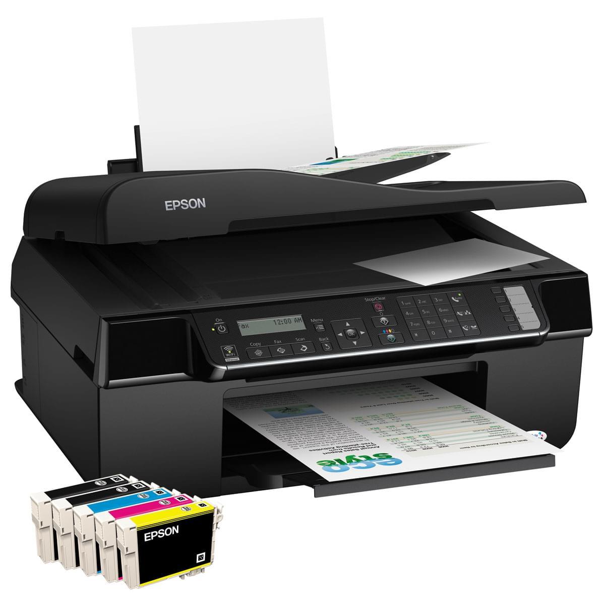 Epson Stylus Office BX320FW (C11CA78302) - Achat / Vente Imprimante multifonction sur Cybertek.fr - 0