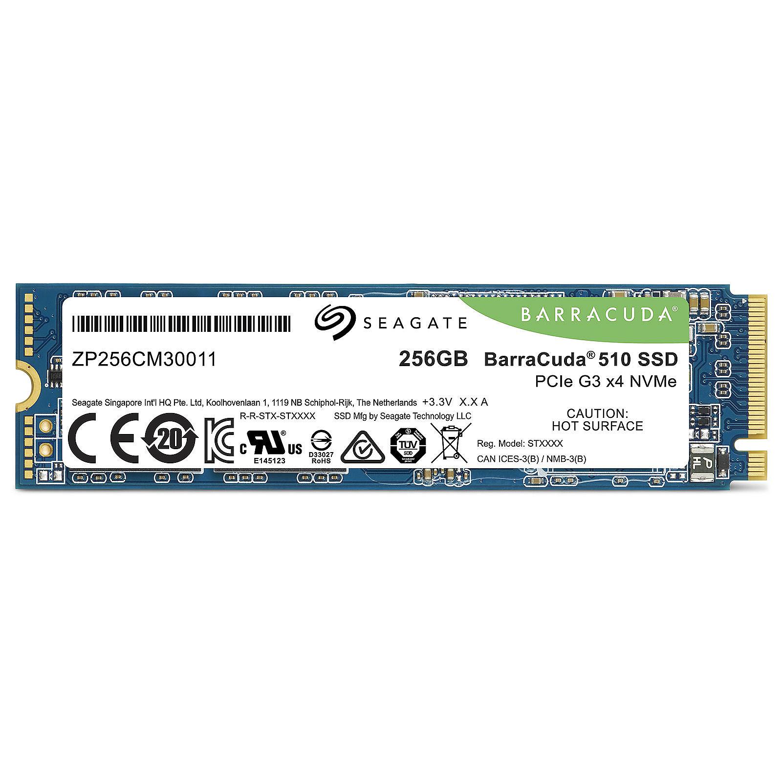 Seagate ZP256CM30041 240-275Go M.2 - Disque SSD Seagate - 2