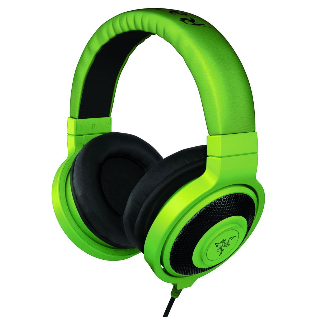 Razer Kraken Green (RZ12-00870100-R3M1) - Achat / Vente Micro-casque sur Cybertek.fr - 0