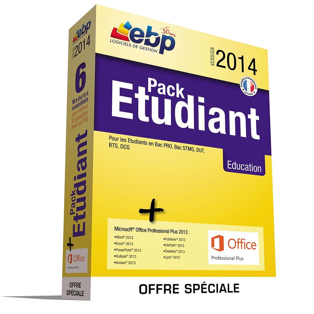 EBP Pack Etudiant 2014 - Offre Spéciale MS 2013 - Logiciel application - 0