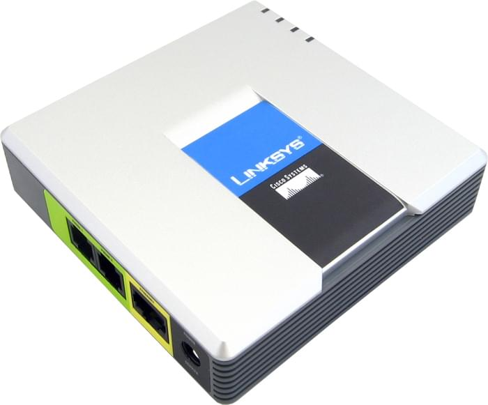 Cisco Passerelle VoIP PAP2T (PAP2T-EU) - Achat / Vente Téléphonie sur Cybertek.fr - 0