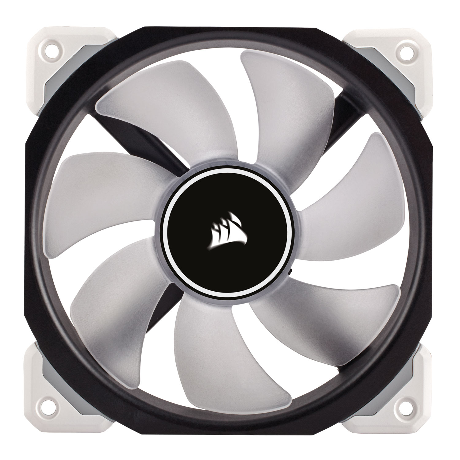 Corsair ML120 PRO LED White 120mm - Ventilateur boîtier Corsair - 1