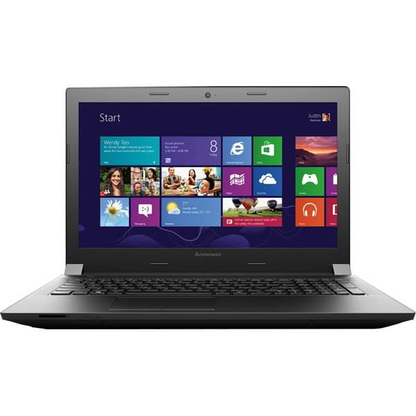 Ordinateur Portable Lenovo B50-80 80LT003AFR - Intel i3 - 500 Go - 0