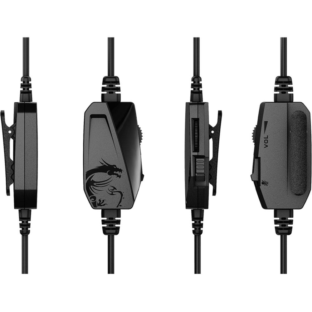 MSI Immerse GH60 Stereo Noir - Micro-casque - Cybertek.fr - 2